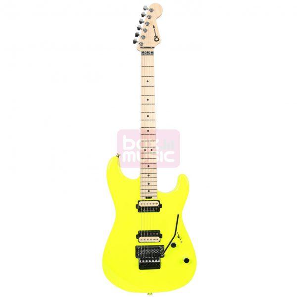 Charvel Pro Mod San Dimas Style 1 2H FR Neon Yellow