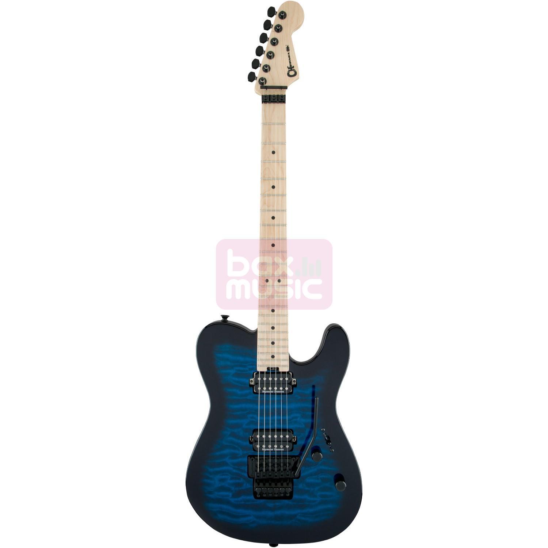 Charvel Pro Mod San Dimas Style 2 HH FR M QM Blue Burst