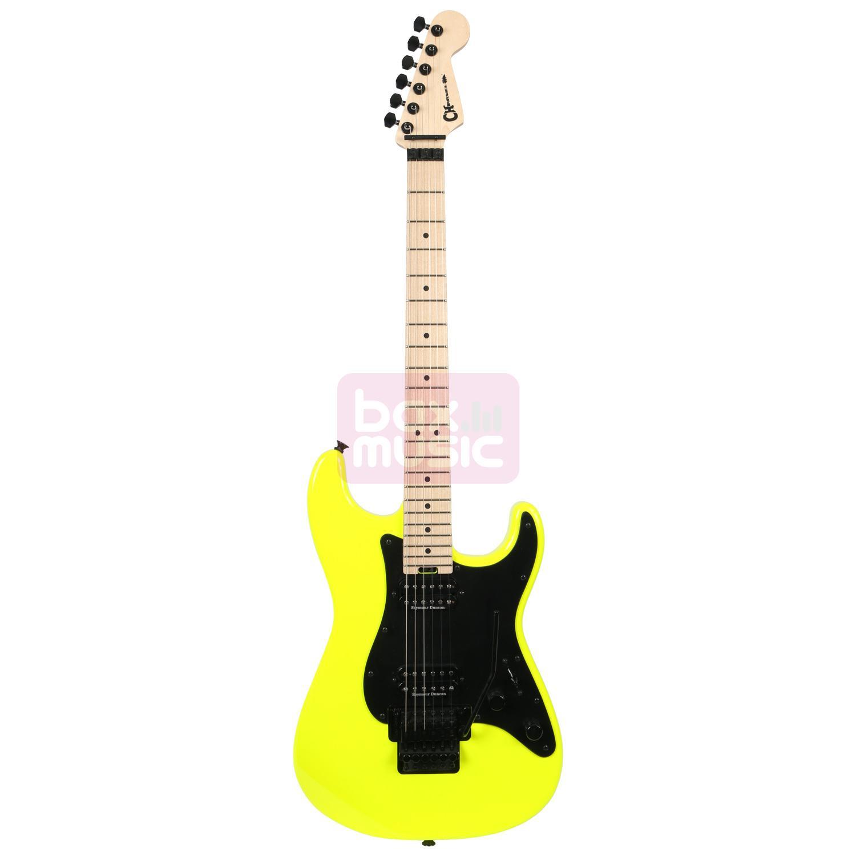 Charvel Pro Mod So Cal 2H FR Neon Yellow