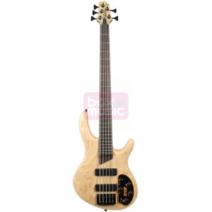 Cort B5 Plus AS OPN Open Pore Natural 5-snarige basgitaar