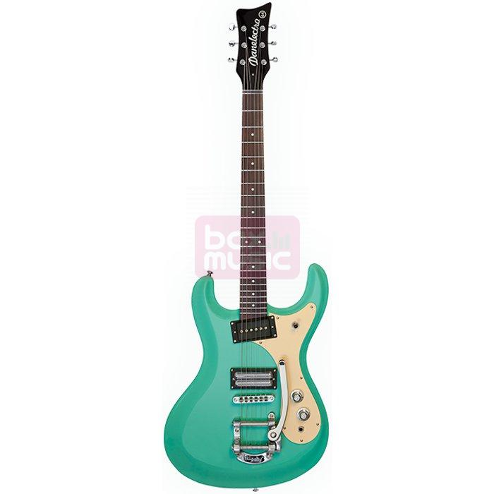Danelectro 64 Aqua Blue elektrische gitaar