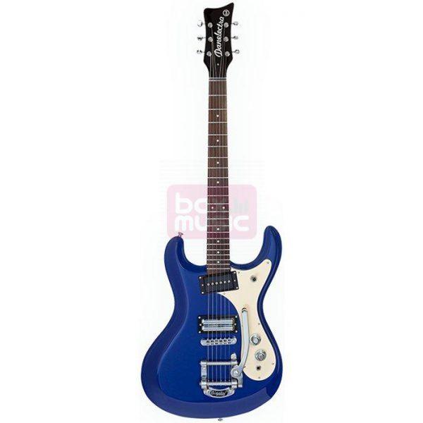 Danelectro 64 Metallic Blue elektrische gitaar