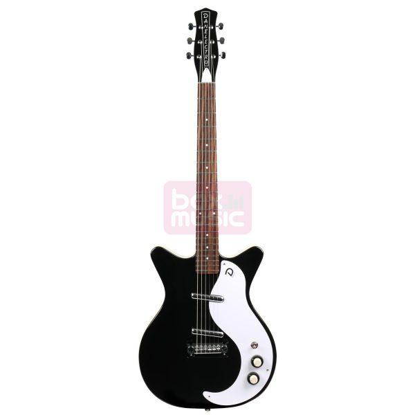 Danelectro DC59 M NOS Back to Black elektrische gitaar