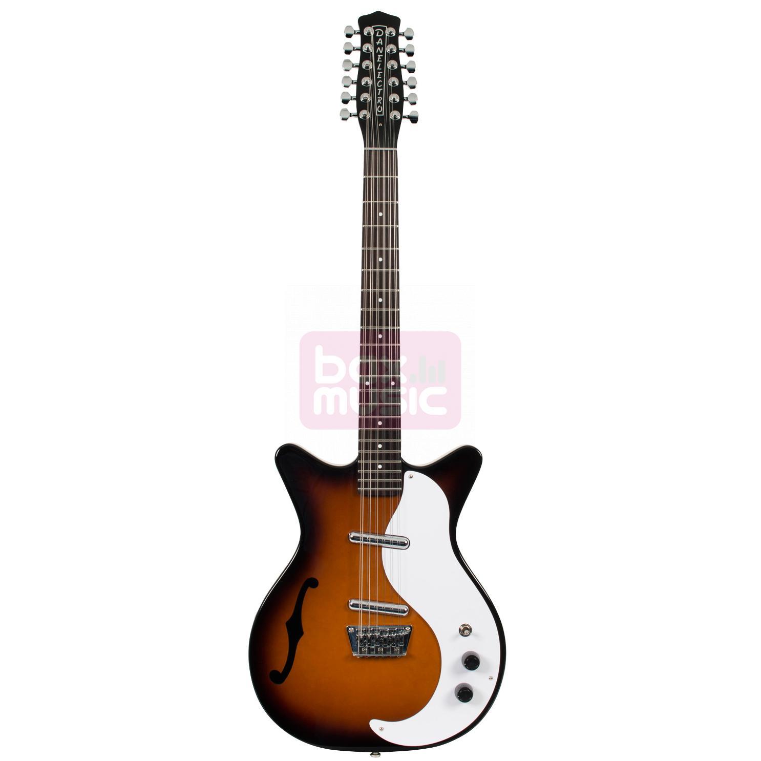 Danelectro DC59 TSB 12-snarige elektrische gitaar