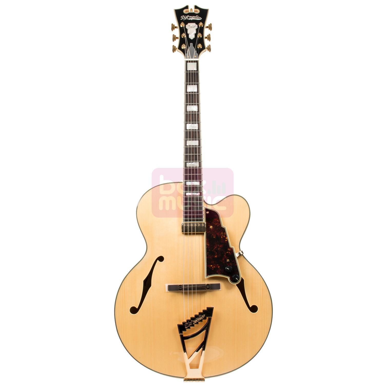 D'Angelico EXL-1 NAC semi-akoestische gitaar