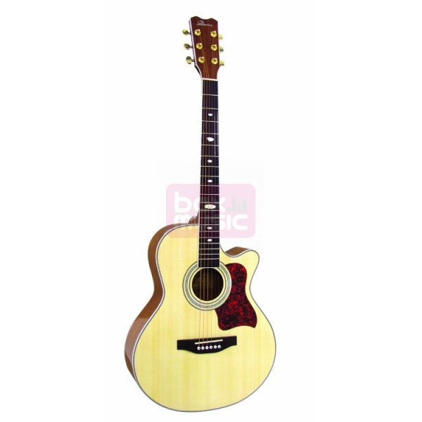 Dimavery JH-500 akoestische western gitaar naturel