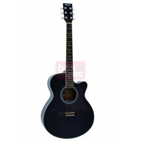 Dimavery JK-300 akoestische gitaar zwart