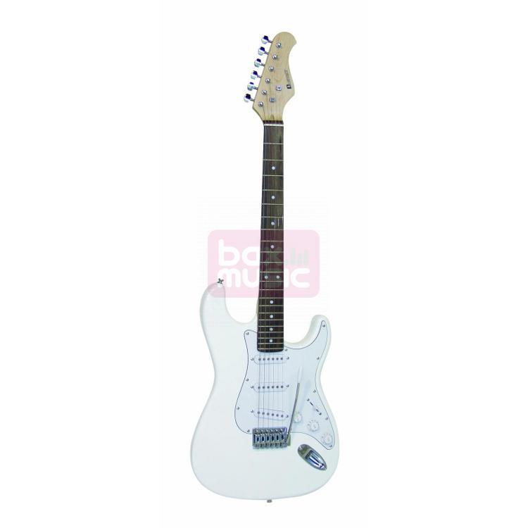 Dimavery ST-203 WH elektrische gitaar wit