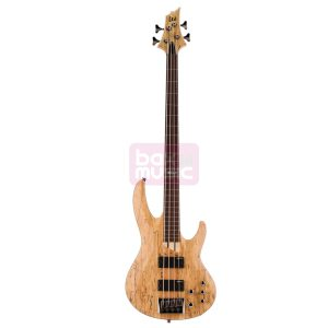 ESP LTD B-204SM-FL Fretless NS elektr basgitaar Natural Satin