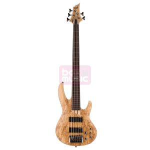 ESP LTD B-205SM-FL Fretless NS basgitaar 5-snarig Natural Satin