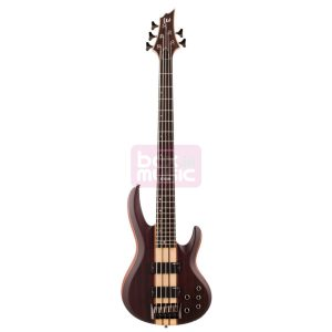 ESP LTD B-5E NS elektr. basgitaar 5-snarig Natural Satin (Ebony)