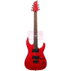 ESP LTD H-101FM See Thru Red