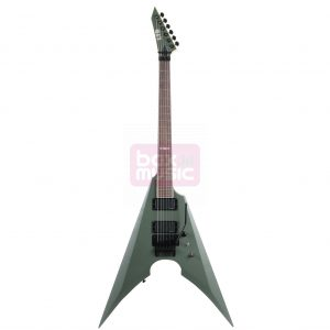 ESP LTD MK-600 Mille Petrozza Signature Military Green Satin