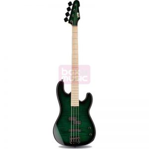 ESP LTD MM-4 Marco Mendoza Dark See Thru Green Sunburst