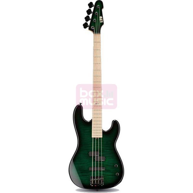 ESP LTD MM-4 Marco Mendoza Dark See Thru Green Sunburst