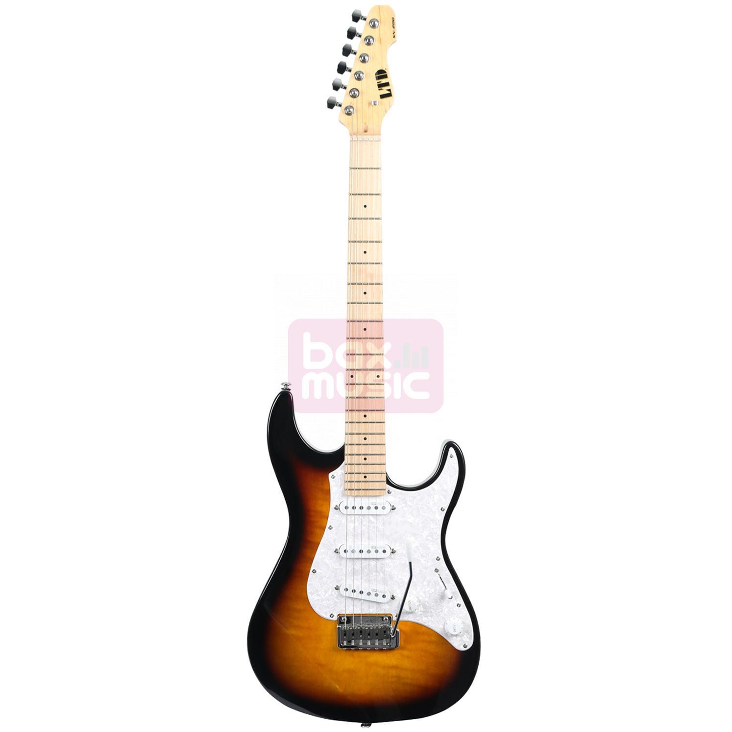 ESP LTD SN-200W Maple 3-Tone Burst