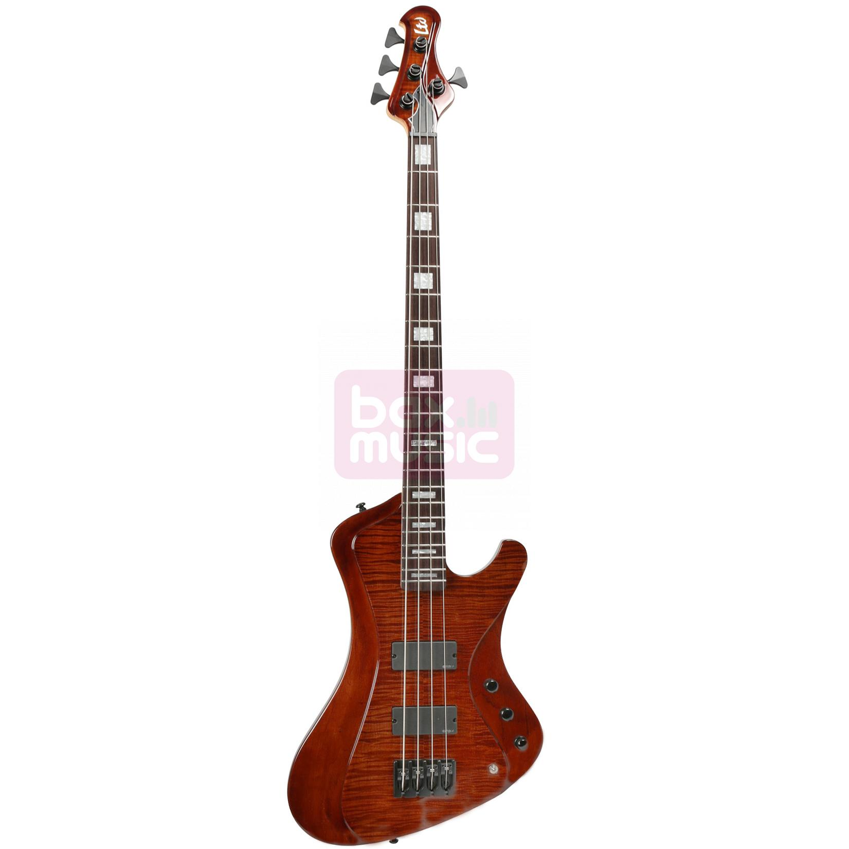 ESP LTD Stream-1004FM Walnut Brown elektrische basgitaar