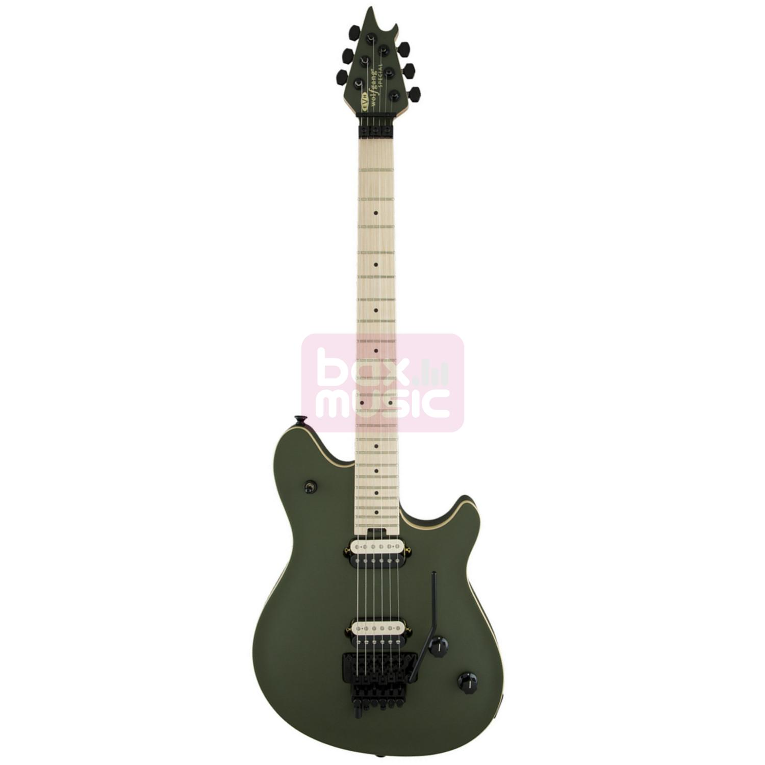 EVH Wolfgang Special Matte Army Drab MN