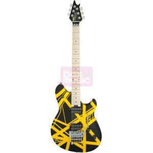 EVH Wolfgang Special Striped Black and Yellow MN