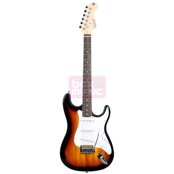 Fazley E100 SB elektrische gitaar sunburst