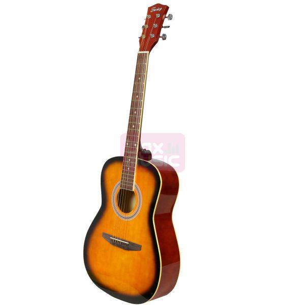 Fazley FJG100HB akoestische westerngitaar honey sunburst