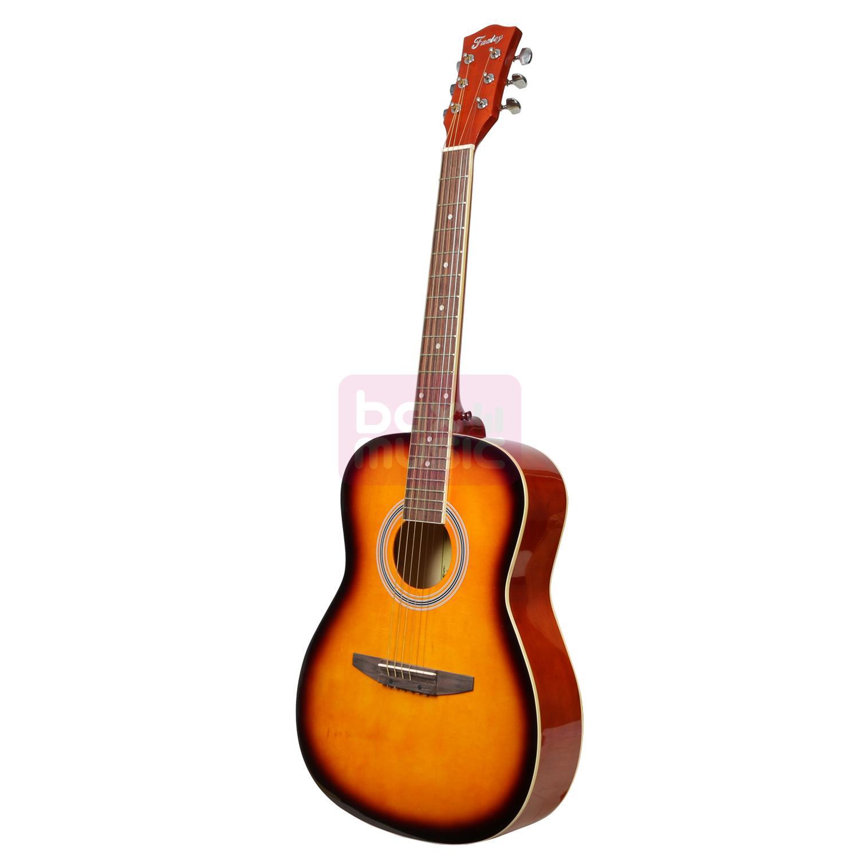 Fazley FJG100SB akoestische westerngitaar 3-tone sunburst