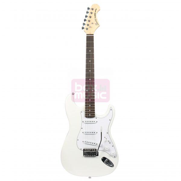 Fazley FST100WH elektrische gitaar wit