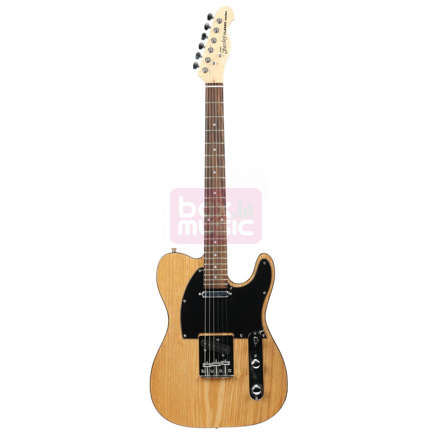 Fazley FTL200NT elektrische gitaar naturel