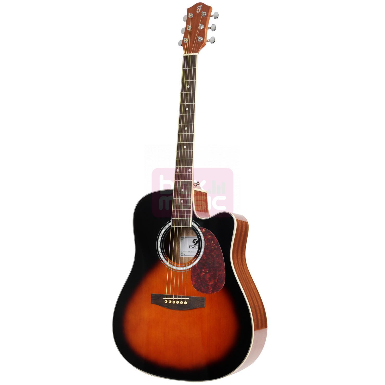 Fazley W60C VS Vintage Sunburst western gitaar