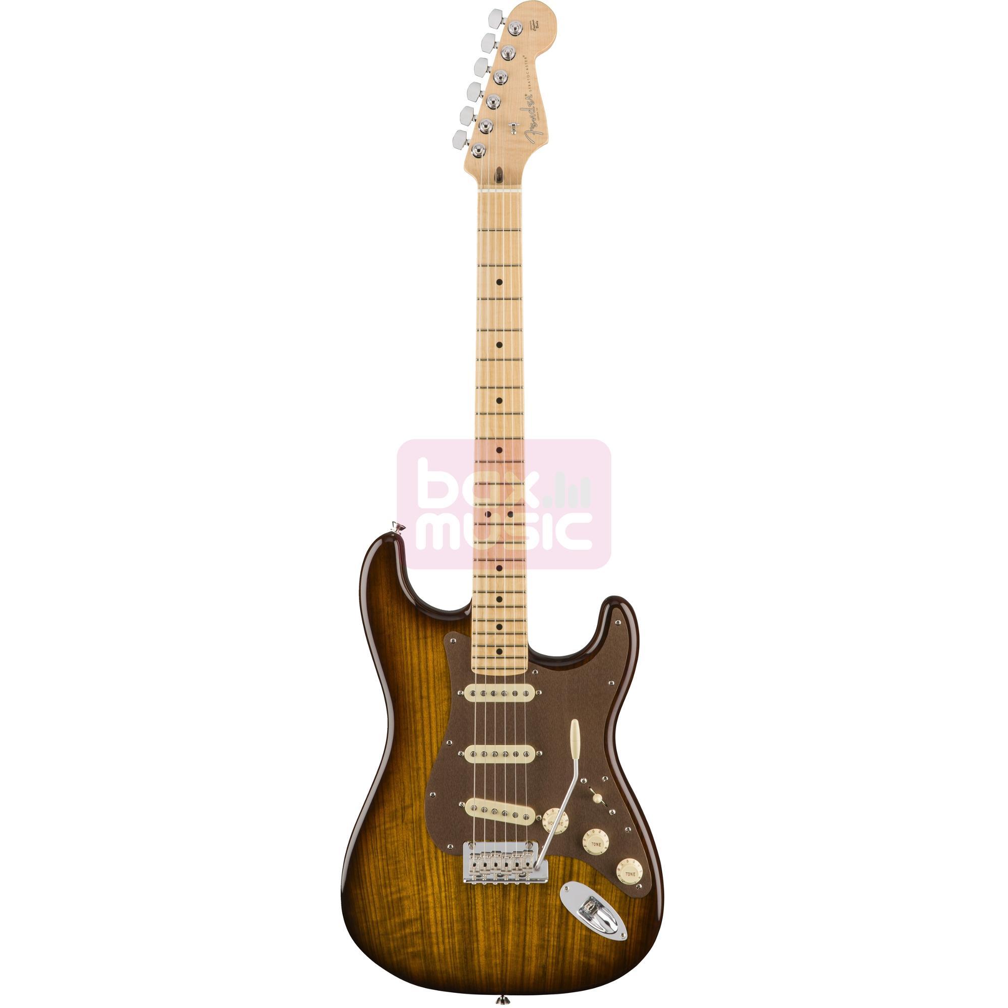 Fender 2017 Limited Edition Shedua Top Stratocaster Natural