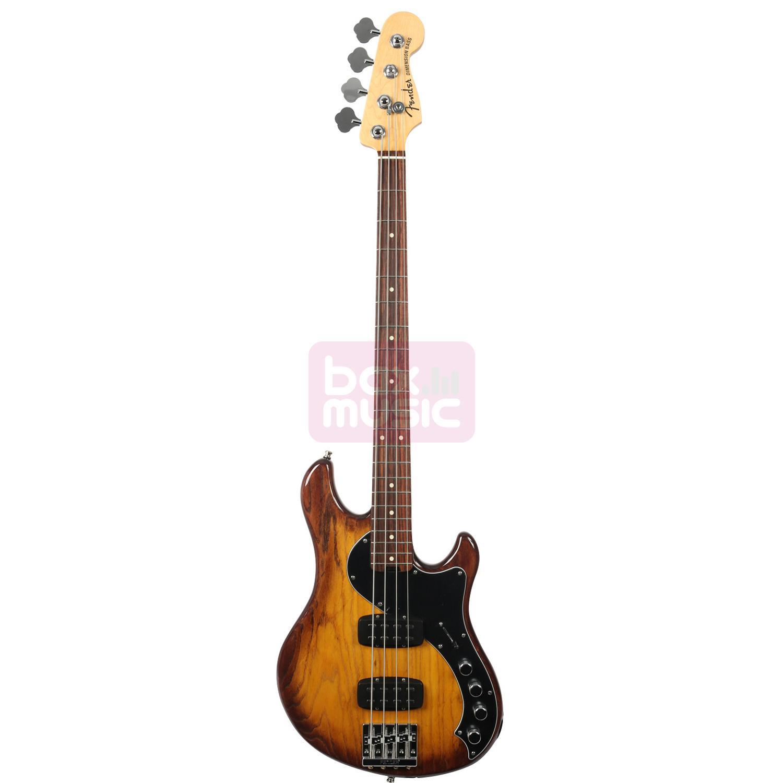 Fender American Elite Dimension Bass IV HH RW VIB Violin Burst