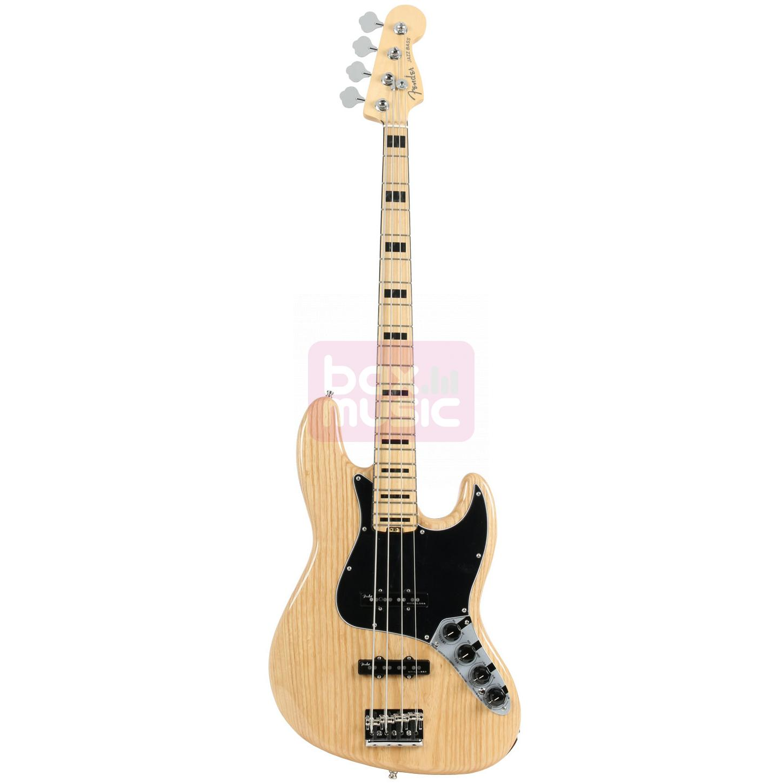 Fender American Elite Jazz Bass ASH MN NAT
