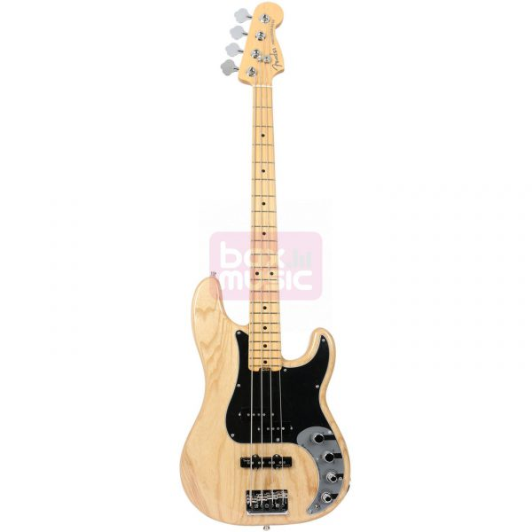 Fender American Elite Precision Bass Ash Natural MN