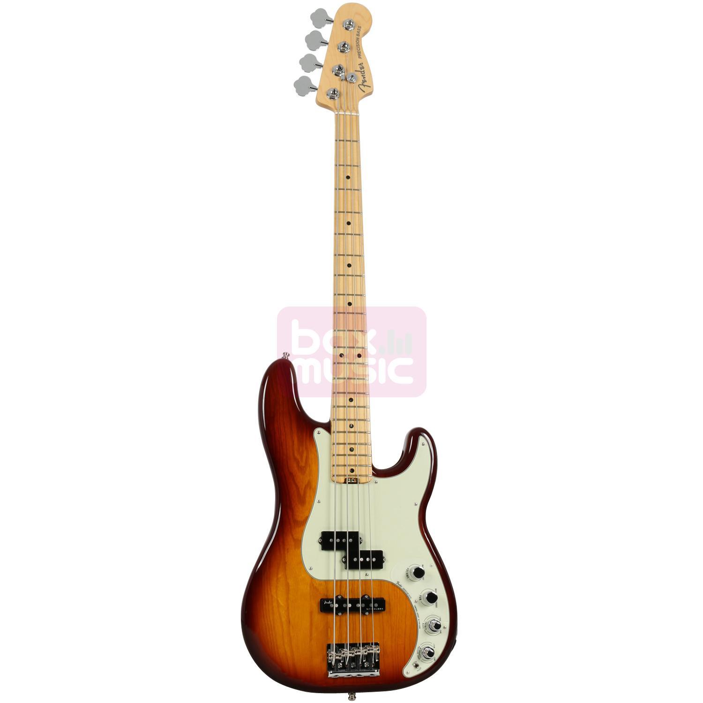 Fender American Elite Precision Bass Ash Tobacco Sunburst MN