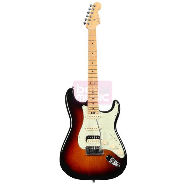 Fender American Elite Strat HSS Shawbucker 3-Tone Sunburst MN