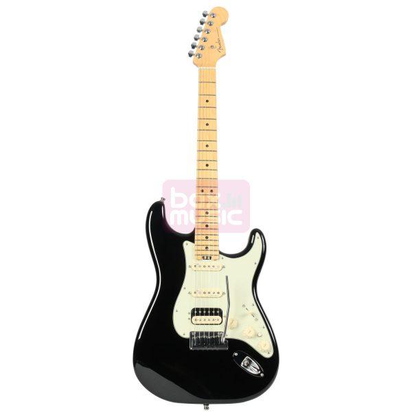 Fender American Elite Strat HSS Shawbucker Mystic Black MN