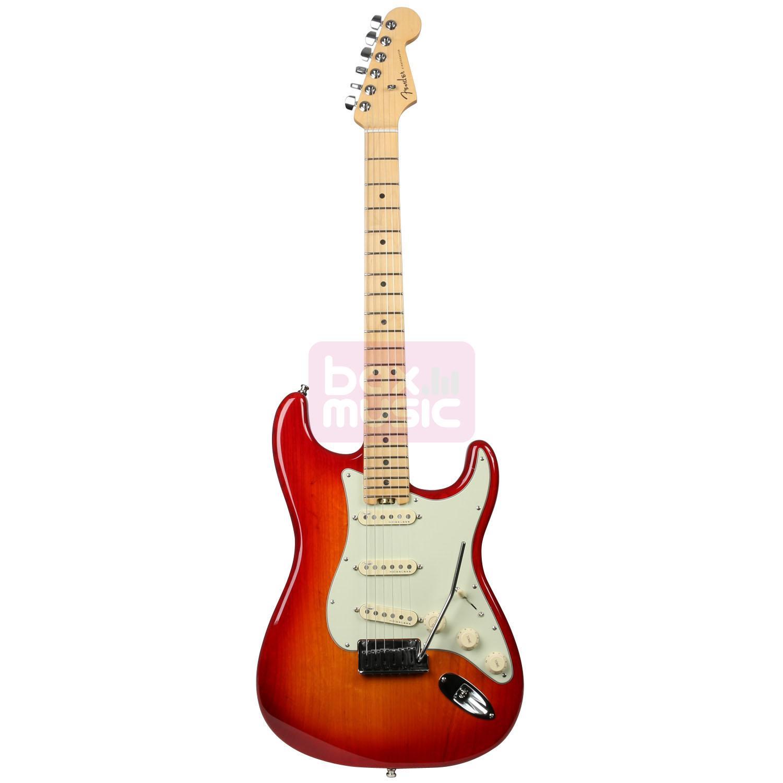 Fender American Elite Stratocaster Aged Cherry Burst MN (Ash)