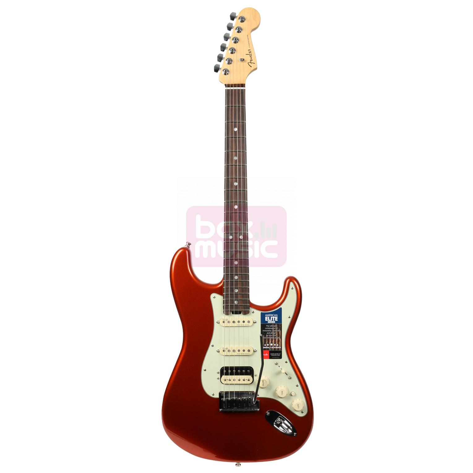 Fender American Elite Stratocaster HSS Shawbucker ABM RW
