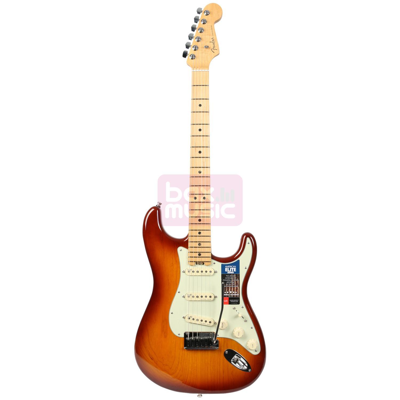 Fender American Elite Stratocaster Tobacco Sunburst MN (Ash)