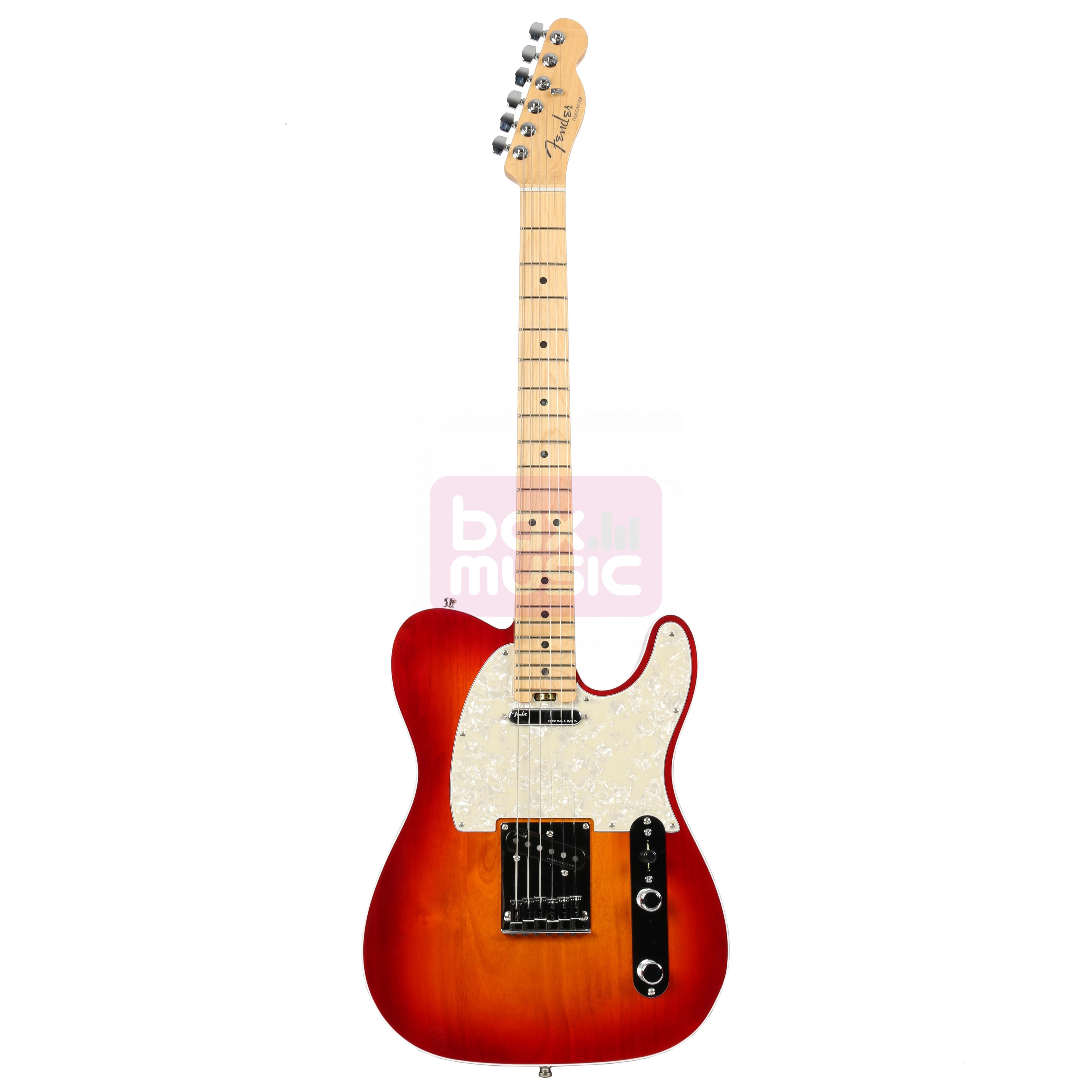 Fender American Elite Telecaster Aged Cherry Burst MN