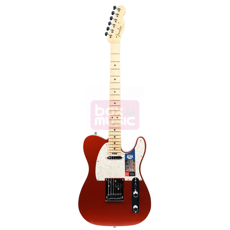 Fender American Elite Telecaster Autumn Blaze Metallic MN