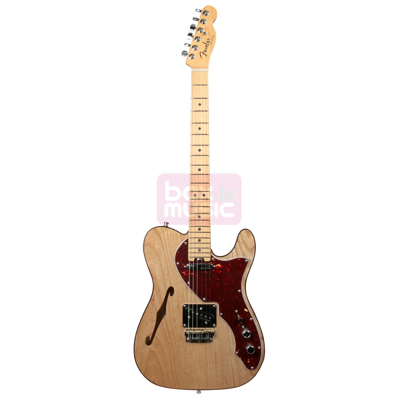 Fender American Elite Telecaster Thinline Natural MN