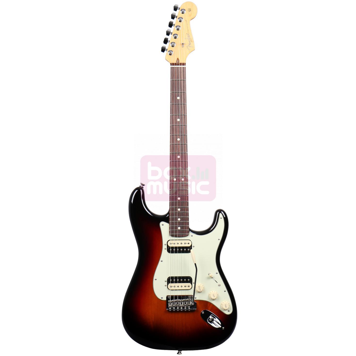Fender American Pro Stratocaster HH Shawbucker 3-Color SB RW