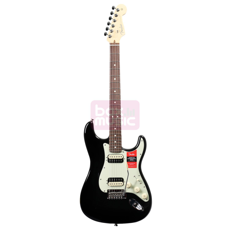 Fender American Pro Stratocaster HH Shawbucker Black RW