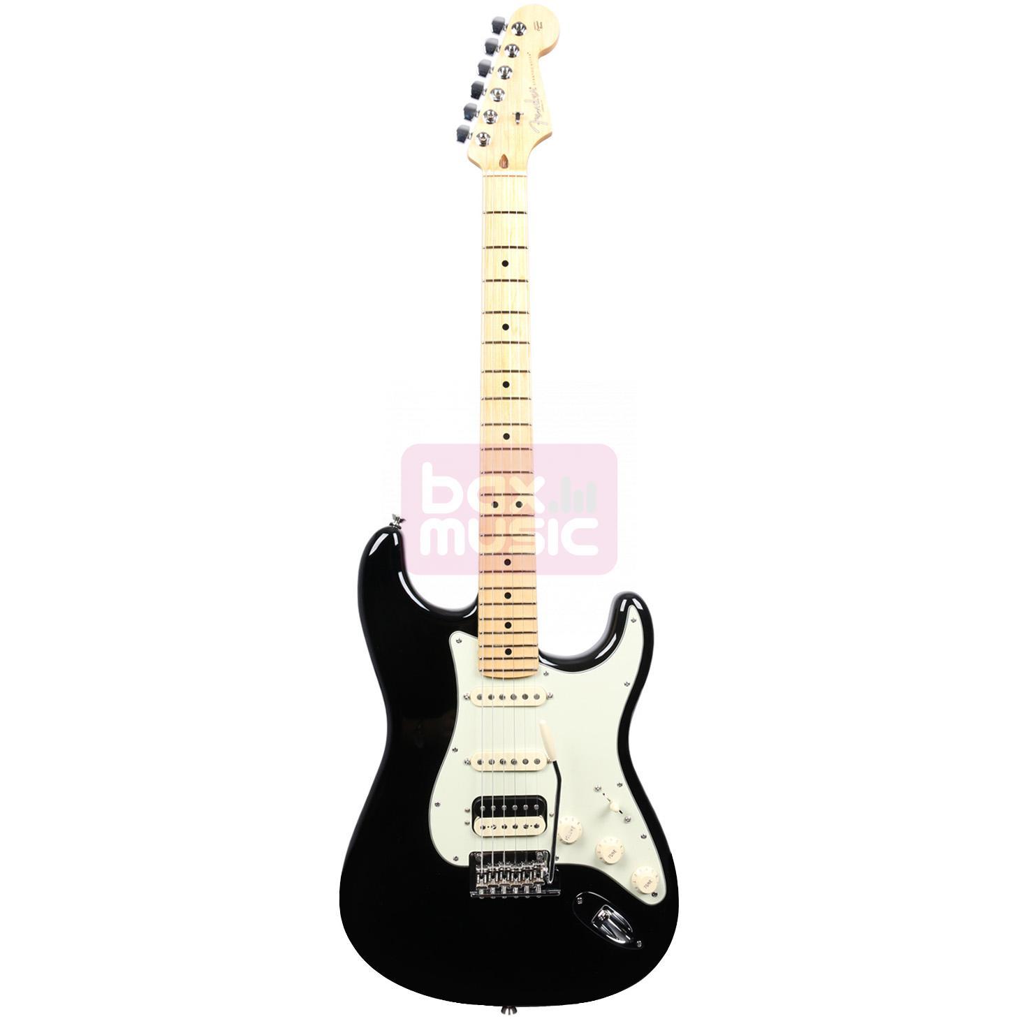 Fender American Pro Stratocaster HSS Shawbucker Black MN