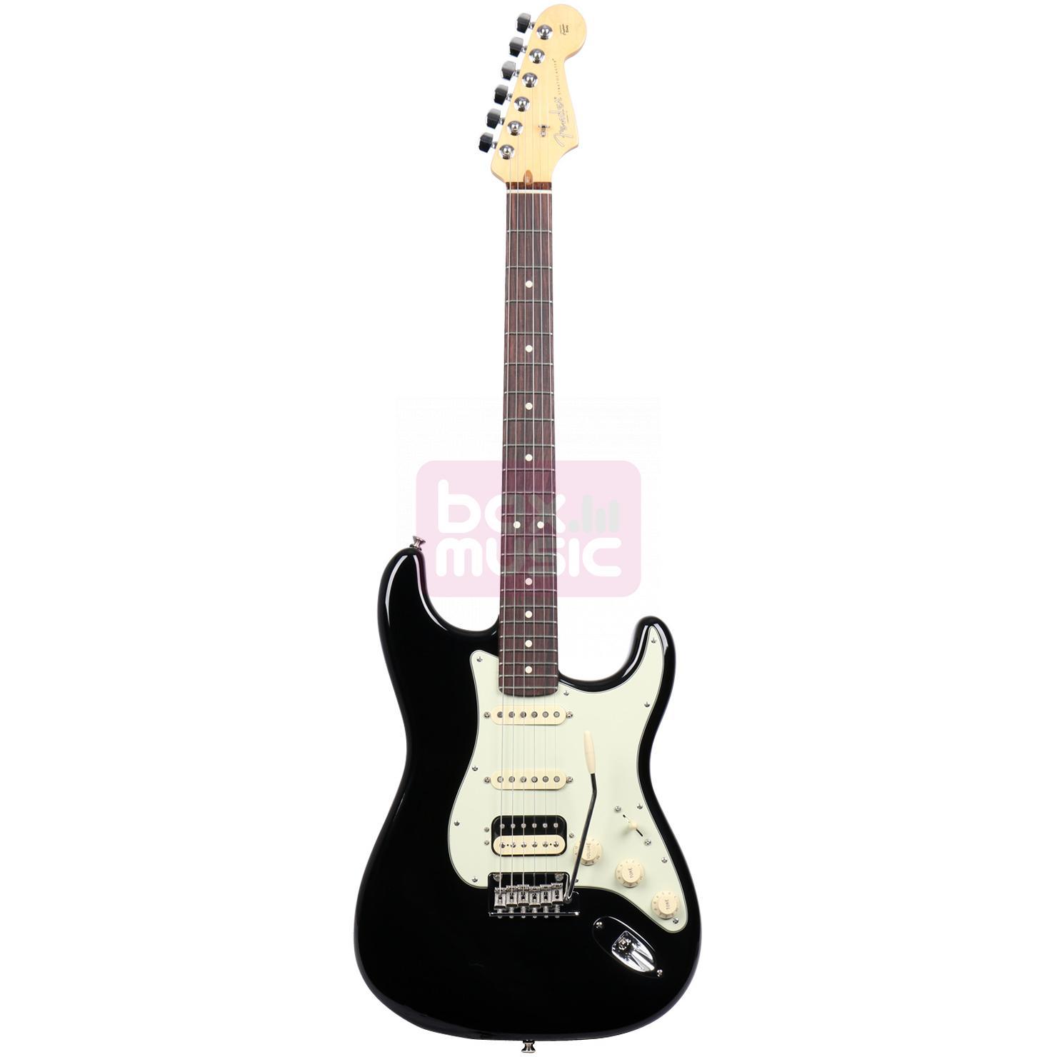 Fender American Pro Stratocaster HSS Shawbucker Black RW