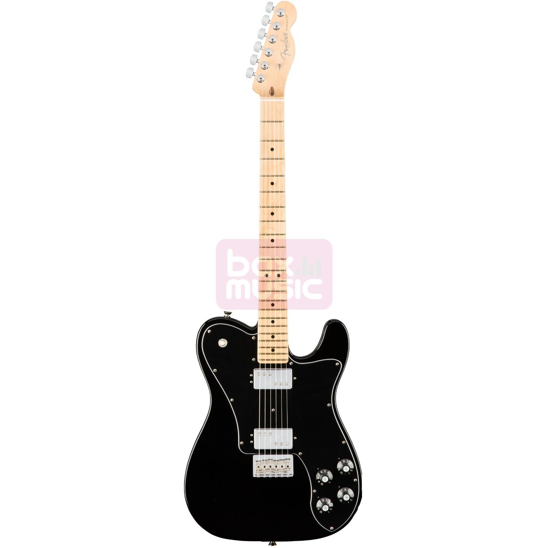 Fender American Pro Telecaster Deluxe Shawbucker Black MN