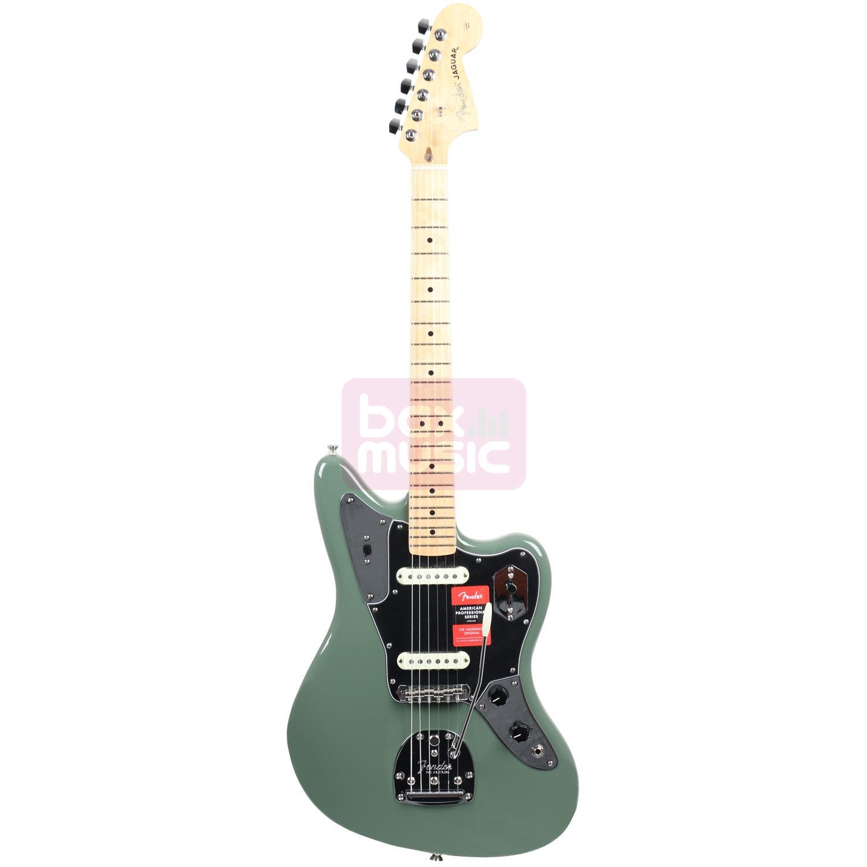 Fender American Professional Jaguar Antique Olive MN