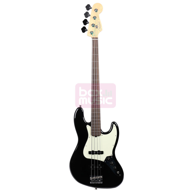 Fender American Professional Jazz Bass Fretless Black RW