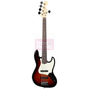 Fender American Professional Jazz Bass V 3-Color Sunburst RW